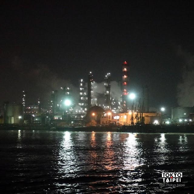 【京濱運河工場夜景探險】肉食系交通船 闖入橫濱川崎工業區看水上夜景