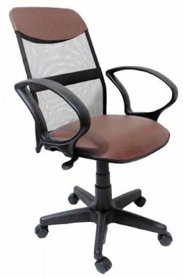 Foto da Cadeira Diretor Soft Tela Marrom