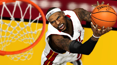 NBA 2K13 LeBron James with XVI Mouthguard Mod