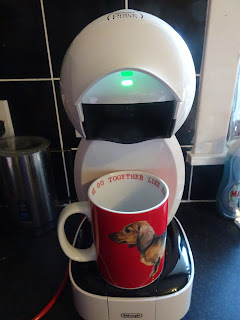 dolce gusto coffee machine working