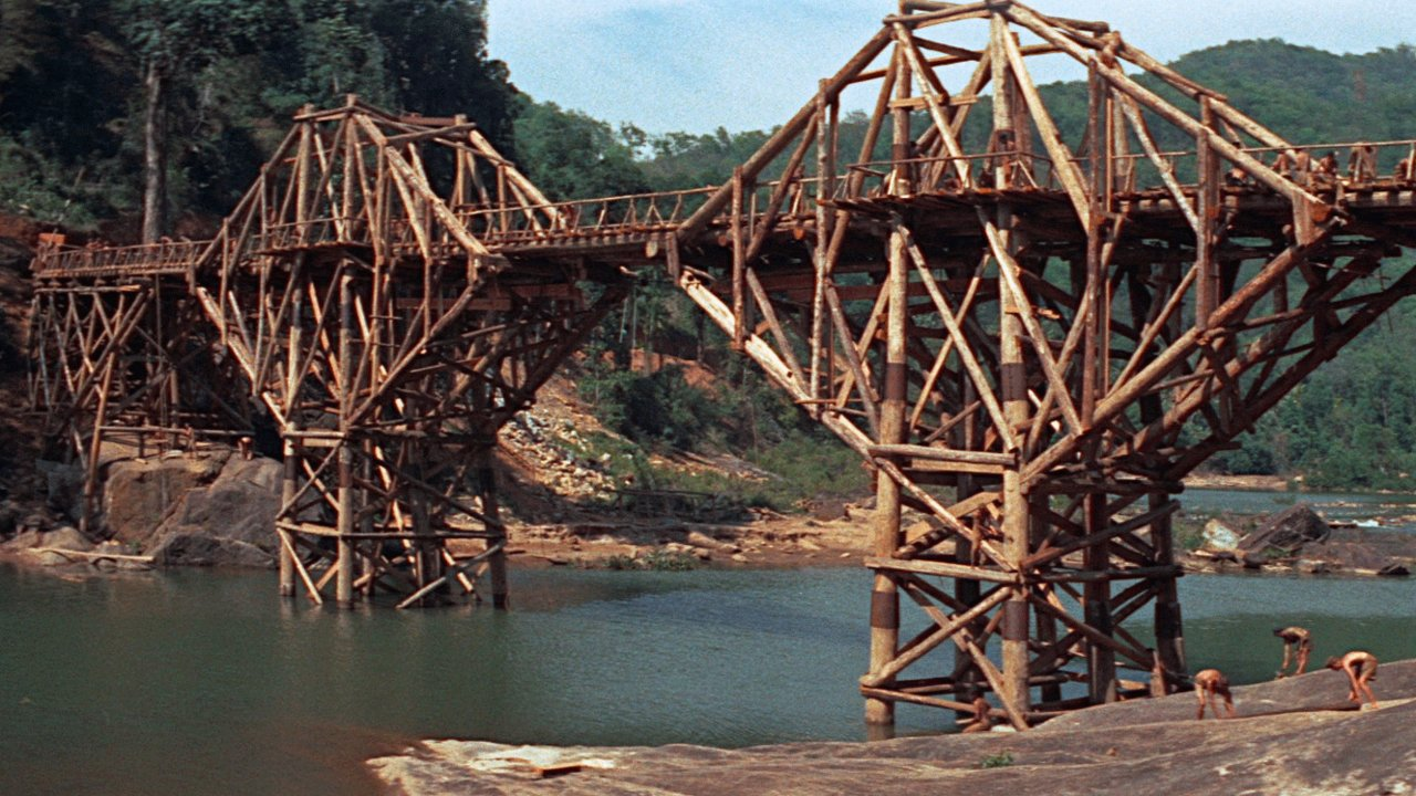 Resultado de imagen de puente sobre río