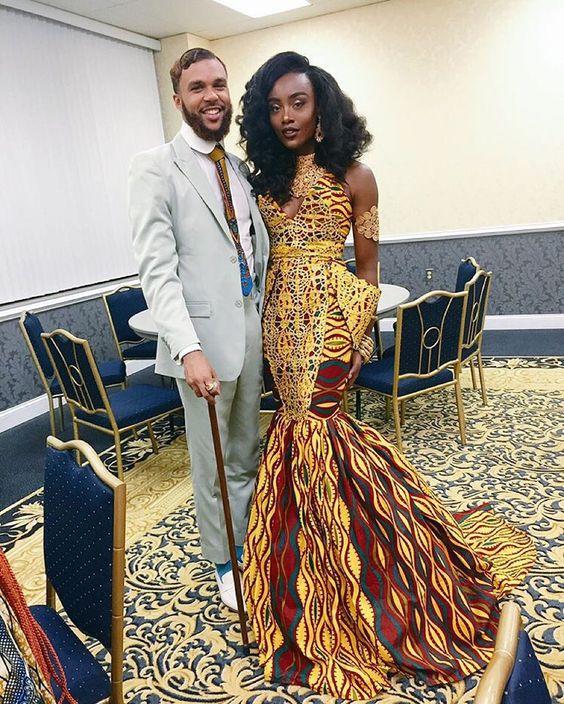 latest ankara styles for wedding | Trending Ankara Style