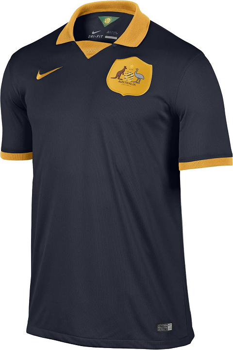 43f460f7af2bb Nike lança camisa camisa reserva da Austrália para a Copa do Mundo ...
