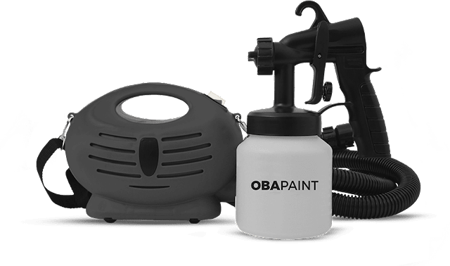 ObaPaint - Pulverizadora portátil, pintura fácil e profissional