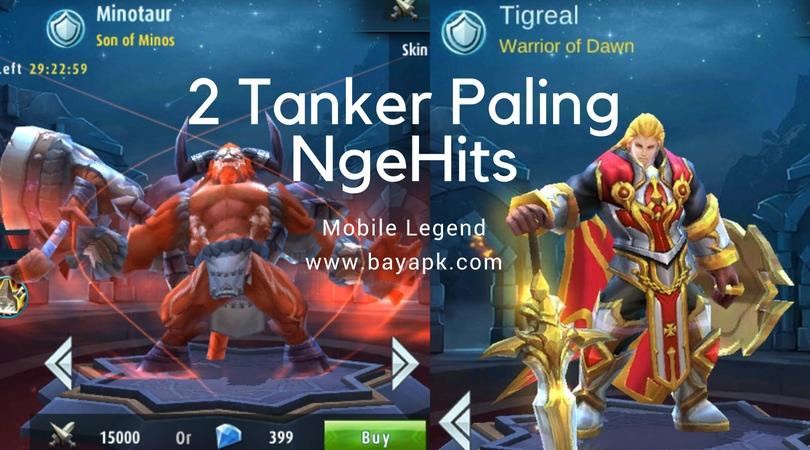 Minotaur dan Tigreal