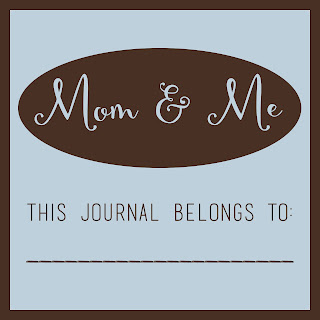 Be pen-pals with your kids! Free printable for a Mom and Me journal. #overstuffedlife