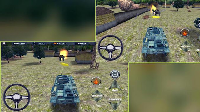 Game Tank Perang Android 3D Tank Attack War Mod Apk