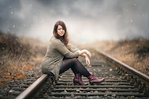 Railway Tracks Barefoot