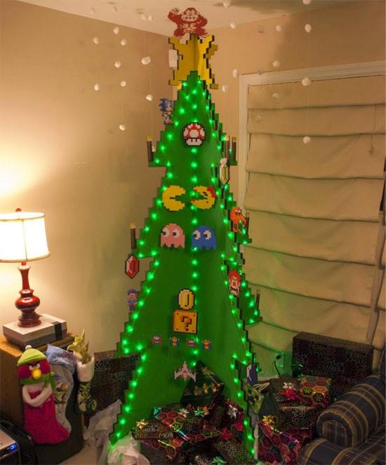 árvore de natal de criança