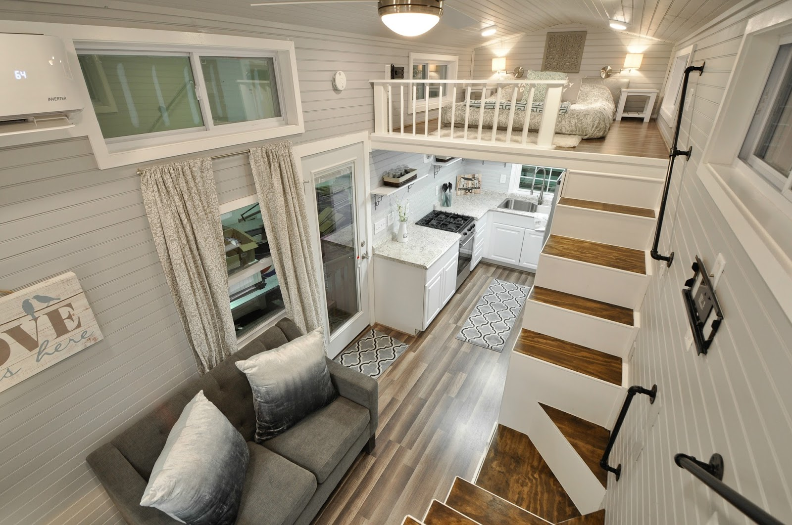 Tiny house town the kate from tiny house building company Interiors for homes
