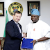 Gov Ambode receives British High Commissioner, Paul Arkwright at Lagos House, Ikeja -photos