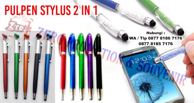 Distributor pen Promosi yang menyediakan aneka model Pulpen Promosi Stylus. Pulpen Promosi Stylus