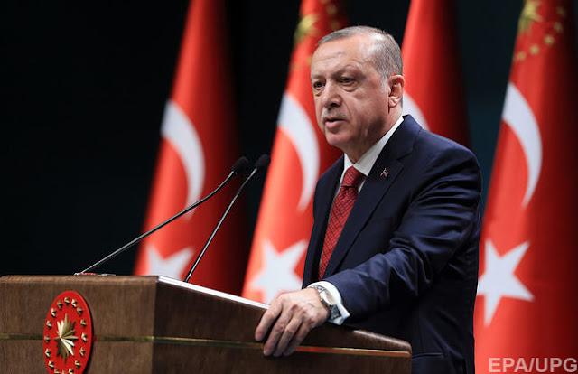 Ердоган заявив про загрозу Туреччині з боку США