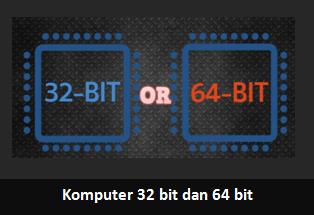 Memahami Perbedaan Komputer 32 Bit dan 64 Bit Secara Mendalam