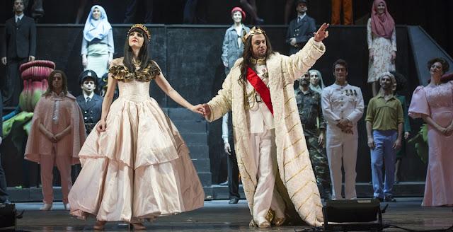 Julio César, la ópera de Georg Friedrich Händel y protagonizada por el contratenor Franco Fagioli, se verá en vivo