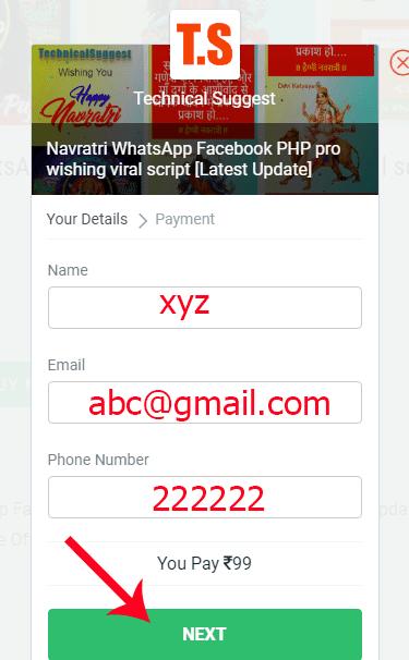pro wishing viral script