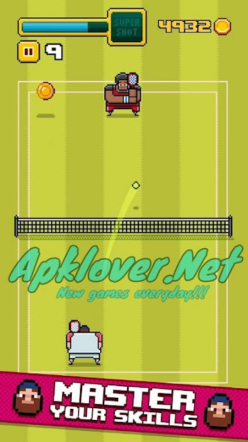 Timber Tennis MOD APK
