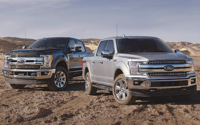 Ford comemora liderança global de vendas de picapes
