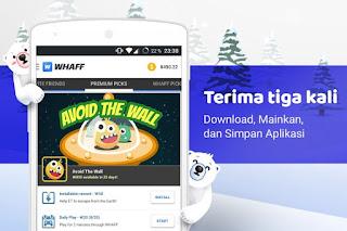 WHAFF Reward Aplikasi Android Penghasil Uang