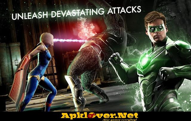 Injustice 2 MOD APK high damage