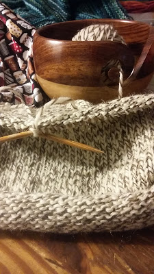 knitting a rolled brim hat for sale at #JGKnits https://www.etsy.com/shop/jeanniegrayknits