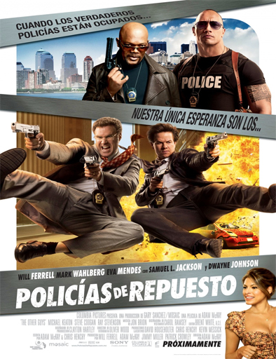 Ver Policías de repuesto (The Other Guys) (2010) Online