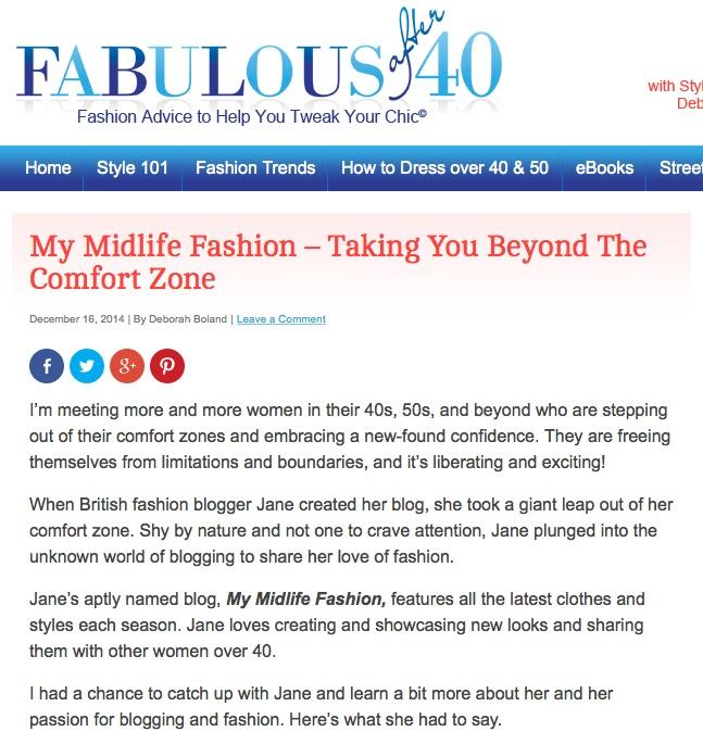My Midlife Fashion Fabulous After 40