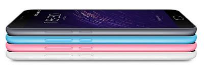 Review Meizu M2 Note- Bagian Warna