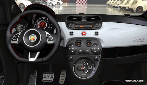 Abarth 500 with Automated Gearbox