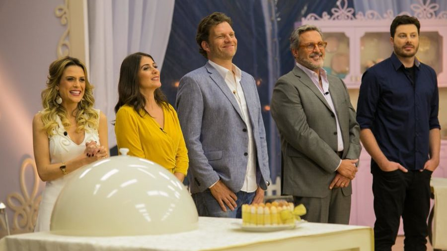 Aparato Do Entretenimento Bake Off Brasil Celebridades Estreia