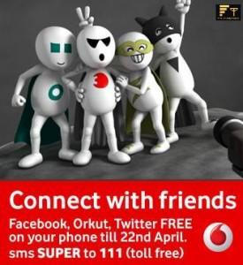 Vodafone Super Weeks Enjoy Free Internet Browsing on Vodafone (India
