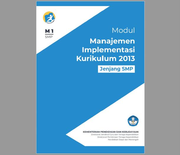 Modul Manajemen Implementasi Kurikulum 2013 SMP