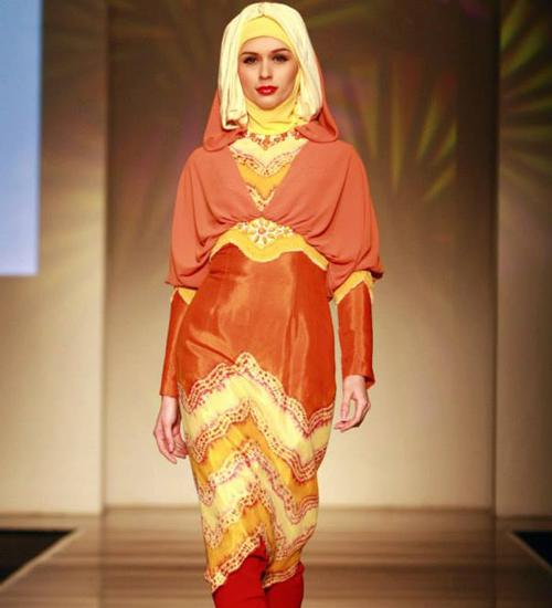 model baju sasirangan muslimah