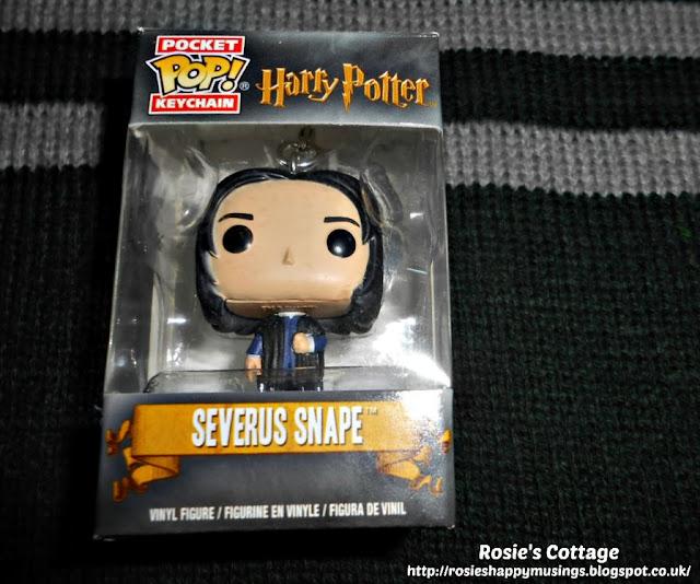Funko Pocket Pop Severus Snape Keychain