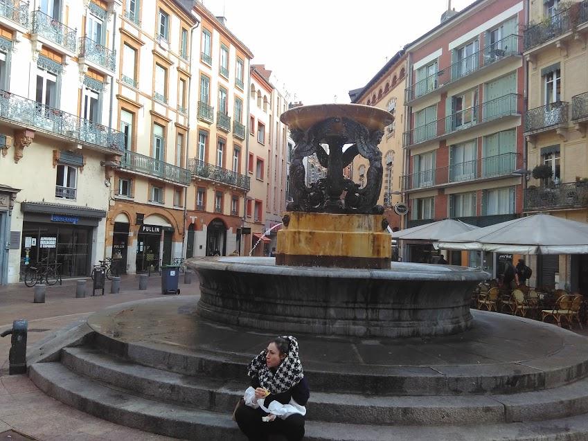 Chafariz em Toulouse