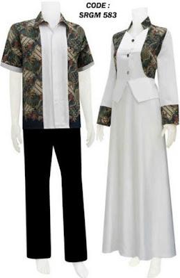 Model Baju Batik Kombinasi Sifon anak muda