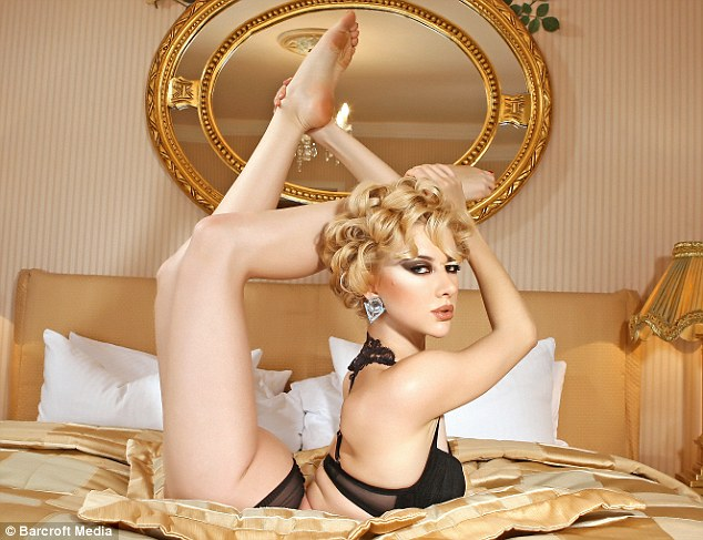 Zlata The Russian Contortionist Releases Her 2012 Calendar
