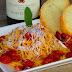 Pasta con tomatitos frescos y queso