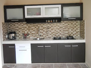 Kitchen Set Lurus - Custom Furniture Semarang