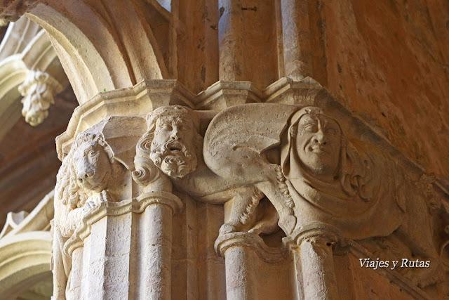 Claustro gótico del Monasterio de Santa María de Santes Creus