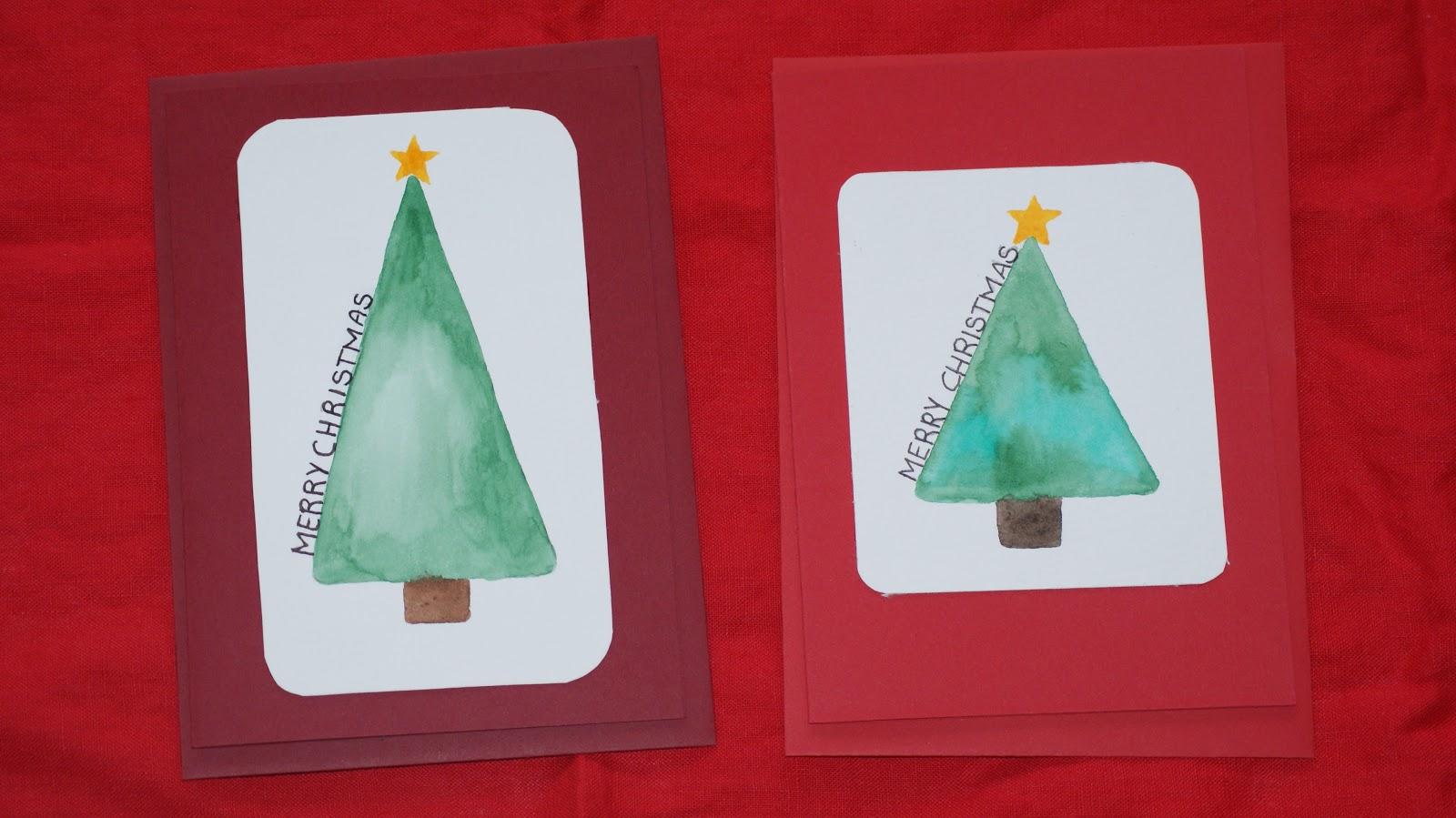 fldrmdchn weihnachtskarten selber basteln diy. Black Bedroom Furniture Sets. Home Design Ideas