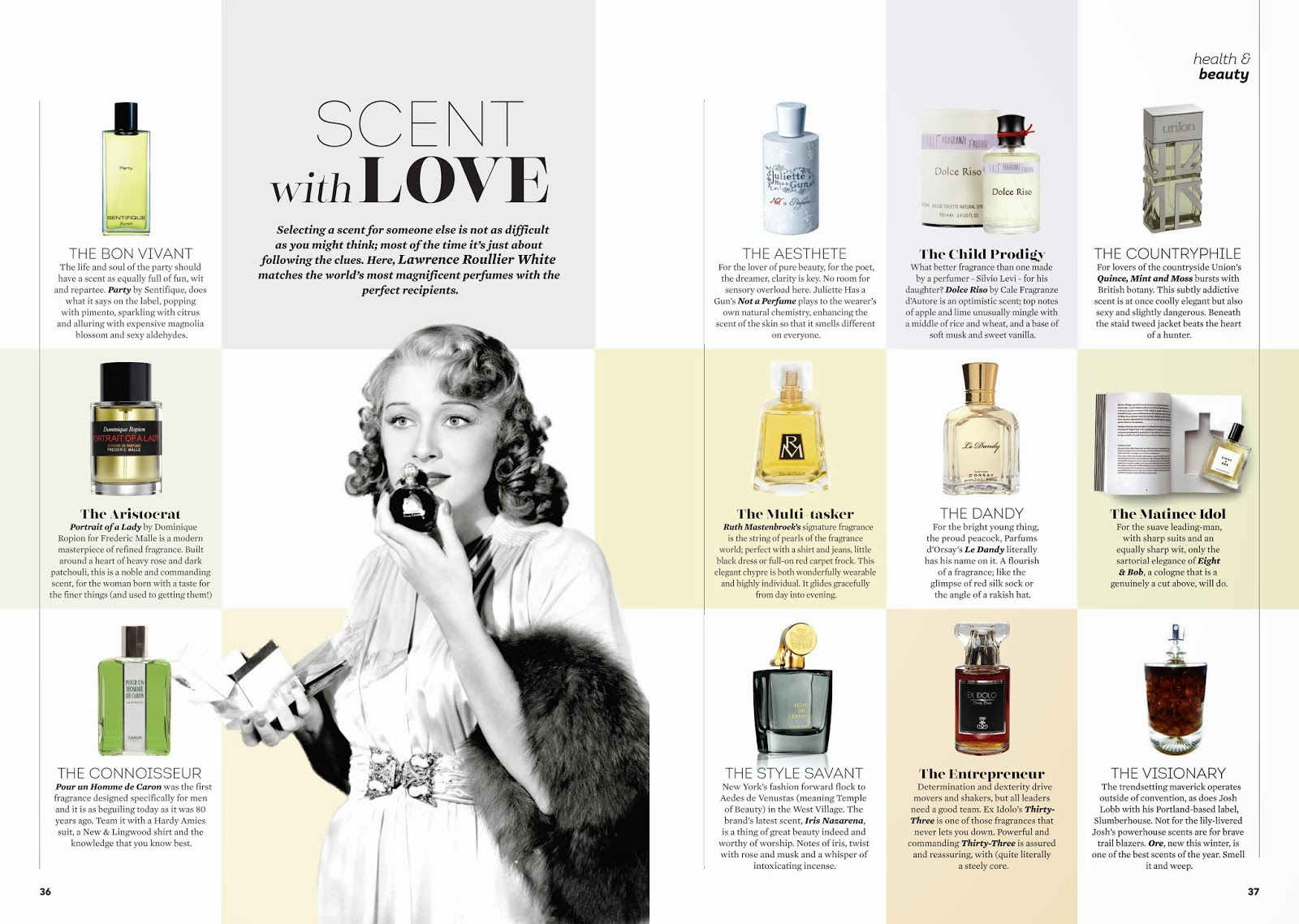 Absolutely Magazine December Issue: Lawrence's Fragrance