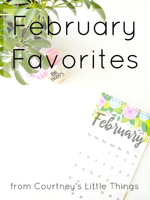February 2017 Favorites
