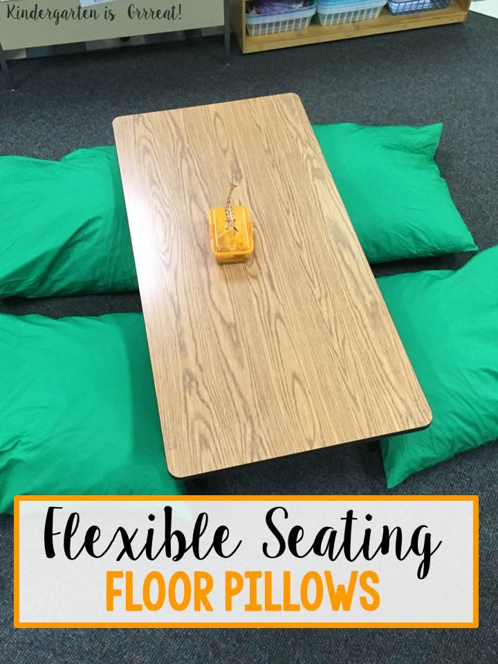 Kindergarten is Grrreat!: Flexible Seating in Kindergarten - Floor ...