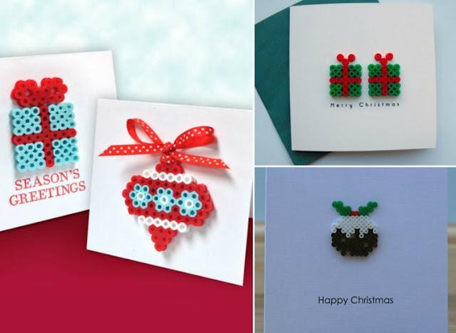 weihnachtskarten basteln mit kindern vorlagen tipss und. Black Bedroom Furniture Sets. Home Design Ideas