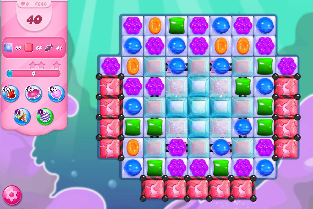 Candy Crush Saga level 7646