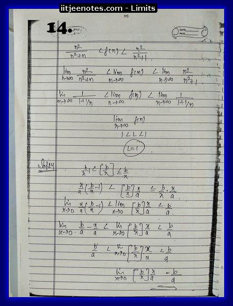 limit notes4