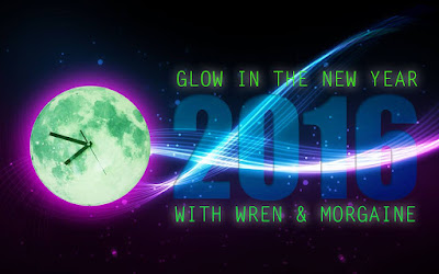 Glow in the New Year 2016 banner