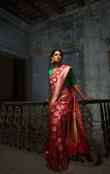 Shalu Silk Sarees Especially Designed For Bridal Saree