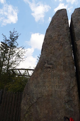 Flight of the Hippogriff at Universal Studios Japan Osaka